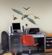 hoe tem je een draak 31 delig wanddecoratie muurstickers set